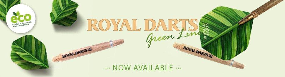Royal Darts Green Line Slider